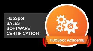 HubSpot Sales Software-certification