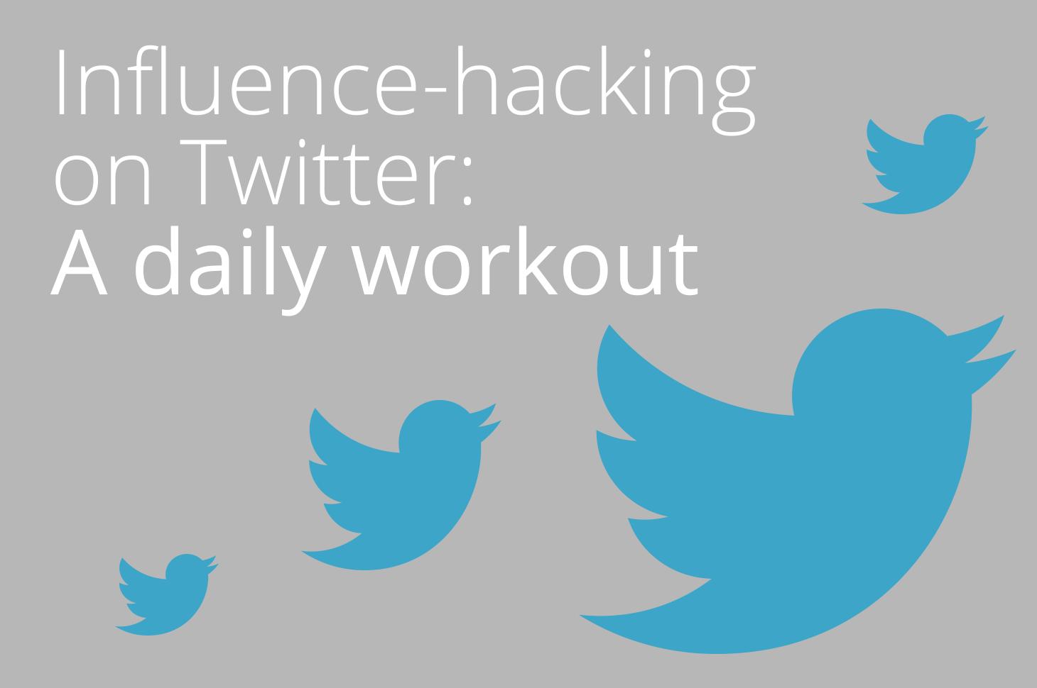 InfluenceHackingTwitter