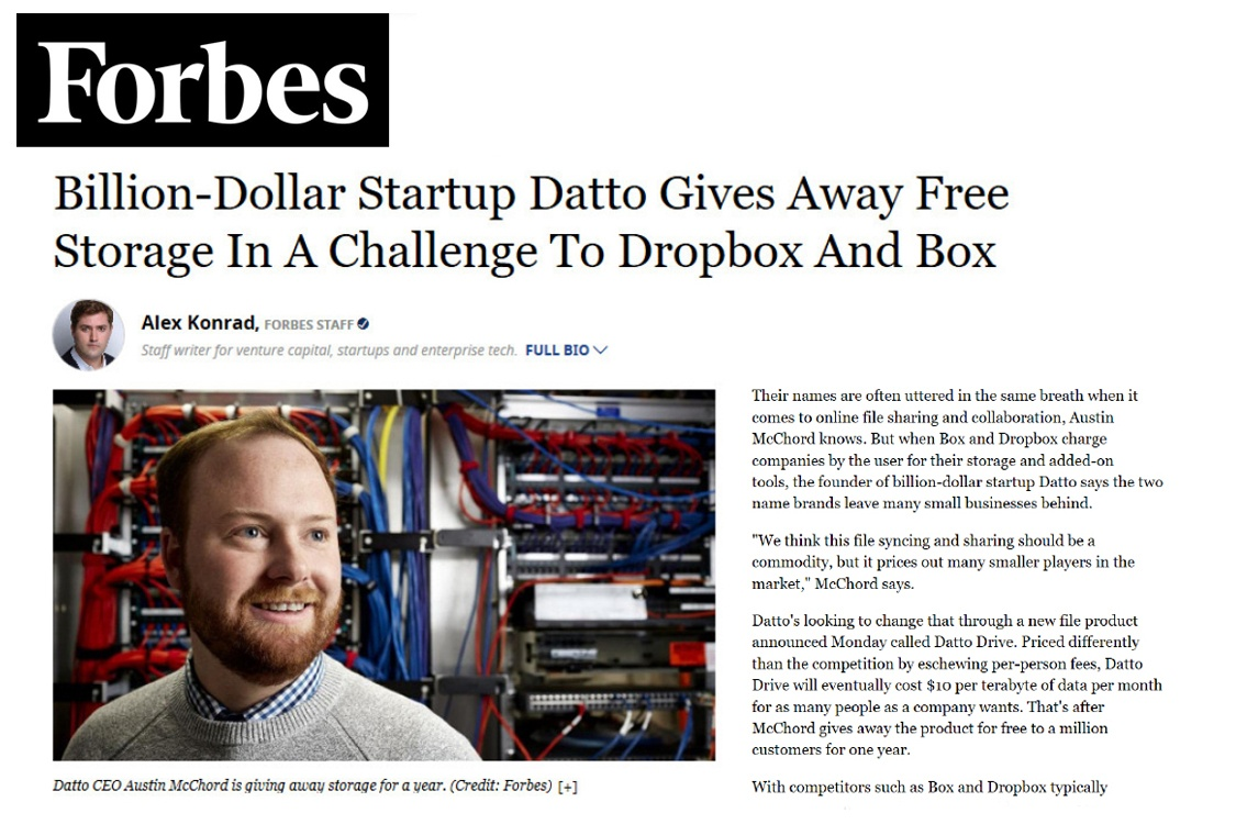 Datto Forbes