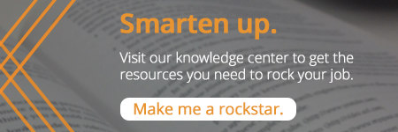 Smarten up. Visit our knowledge center for the resources you need to rock your job.